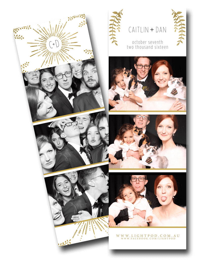 Photo Booth Custom Photo Strips